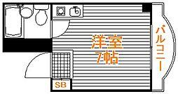 埼玉県入間市東藤沢1丁目の賃貸マンションの間取り