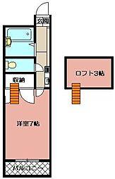 アイディール[2階]の間取り