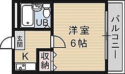 コープ四ノ宮[302号室号室]の間取り