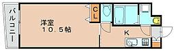 ロイヤルリバービュー143[5階]の間取り