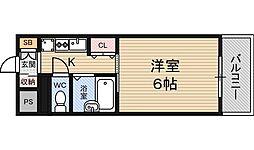 ポルテ56マンション[5階]の間取り