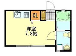Loaplata千葉寺(ロアプラタ)[102号室]の間取り