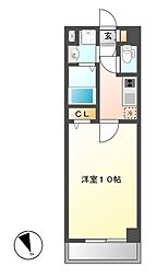 M stage藤ヶ丘[4階]の間取り