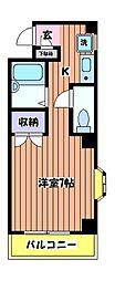 KIビル[5階]の間取り