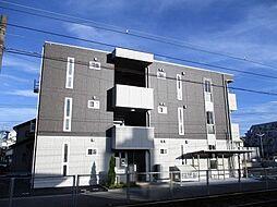 鹿児島県鹿児島市宇宿3丁目の賃貸アパートの外観