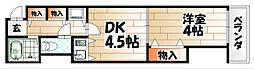 ARK-M(アークエム)[7階]の間取り