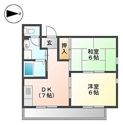 グランドステータス林マンション[3階]の間取り