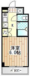 チェリーハイムIII[4階]の間取り