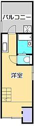 ルナコート[4階]の間取り