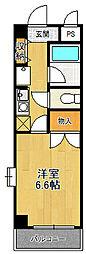 レジデンス武庫之荘[1階]の間取り