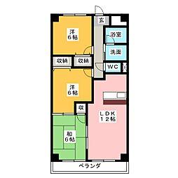グリーンピアT・M[2階]の間取り