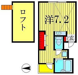 リバティ青戸[3階]の間取り