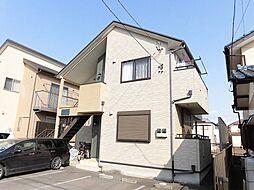 東京都昭島市美堀町1丁目の賃貸アパートの外観