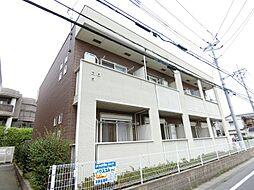 埼玉県越谷市宮本町5の賃貸アパートの外観
