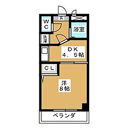SPACEYOUII[1階]の間取り