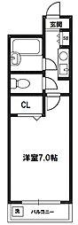 ノルデンハイム相川[4階]の間取り