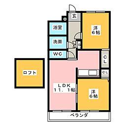 スパジオ[2階]の間取り