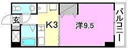 グリチネ・ウノ[702 号室号室]の間取り