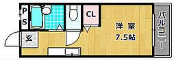 レオハイム長尾III[2階]の間取り