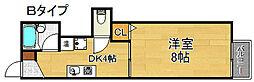 シータイガーI[3階]の間取り