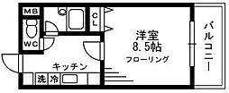 アコール草加[101号室]の間取り