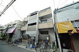 大阪府大阪市淀川区西三国3の賃貸アパートの外観