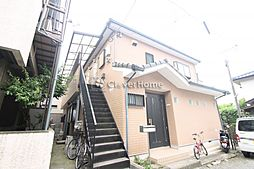 神奈川県大和市大和東3の賃貸アパートの外観