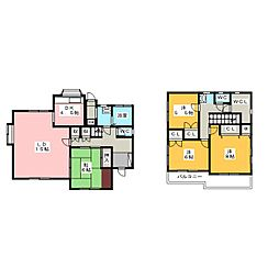 [一戸建] 静岡県三島市佐野見晴台1丁目 の賃貸【/】の間取り