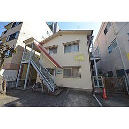 福岡県福岡市中央区大宮1の賃貸アパートの外観