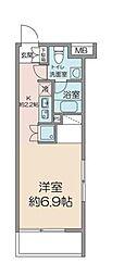 東京都武蔵野市吉祥寺南町1丁目の賃貸マンションの間取り