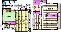 [一戸建] 兵庫県芦屋市朝日ケ丘町 の賃貸【/】の間取り