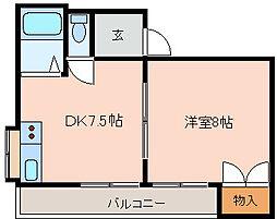 ST山本[2階]の間取り