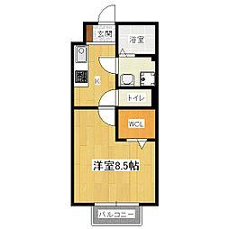 UNO HOUSE[1階]の間取り