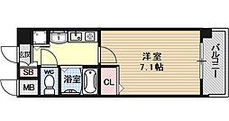 プレサンス京都神宮道[203号室号室]の間取り