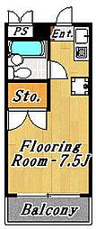 モア4[1階]の間取り