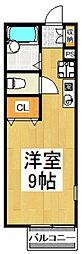 COMODO東藤沢[1階]の間取り