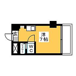 ラ・レジダンス・ド・シャトレーヌ 421号室[4階]の間取り
