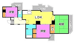 JUNハイツ志木[2階]の間取り