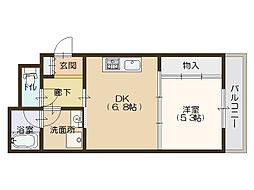 KAISEI江戸堀[11階]の間取り