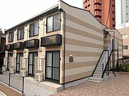 東京都足立区綾瀬2丁目の賃貸アパートの外観
