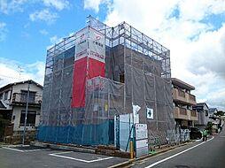 大阪府大東市諸福2丁目の賃貸アパートの外観
