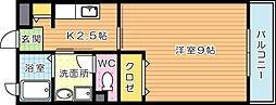 メゾンドオーブ[1階]の間取り