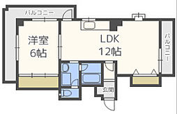GSハイム平野[7階]の間取り