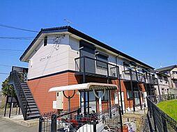 奈良県生駒市西松ケ丘の賃貸アパートの外観