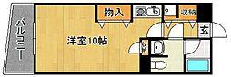 Kステーションプラザ八田[302号室]の間取り