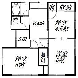 [一戸建] 静岡県浜松市中区幸5丁目 の賃貸【/】の間取り