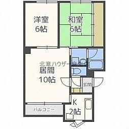 正木マンション[2階]の間取り