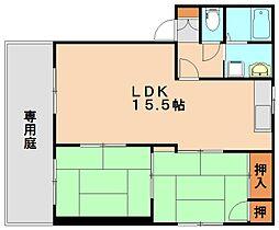 エトランゼ130[1階]の間取り