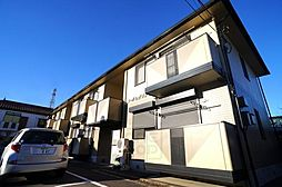 群馬県高崎市芝塚町の賃貸アパートの外観