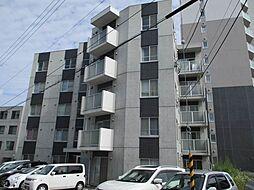 北海道札幌市西区発寒九条9丁目の賃貸マンションの外観